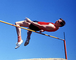 The Fosbury Flop, or how building on your strengths + accepting your weaknesses can change the world.